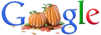 Google Logo: Happy Canadian Thanksgiving