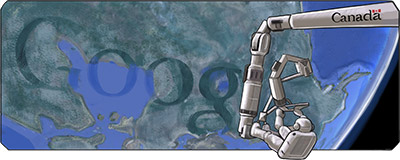 Google Doodle celebrates the 31st year of Canadarm operation