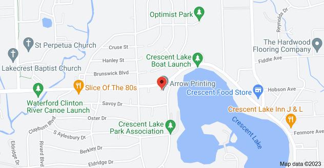 Map of 5457 Elizabeth Lake Rd, Waterford Twp, MI 48327, USA
