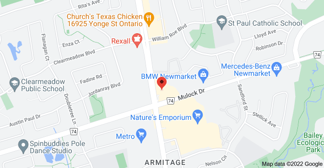 Map of 16775 Yonge St, Newmarket, ON L3X 2P8