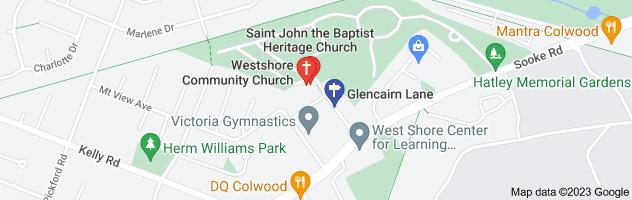 Map of 537 glencairn lane